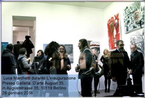 inaugurazione mostra Berlino