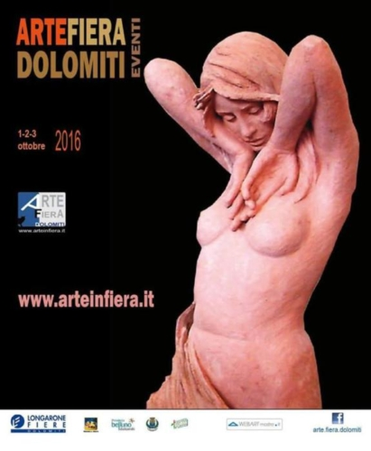 locandina ArteFiera Dolomiti